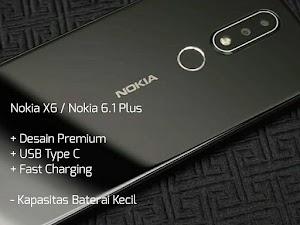 Spesifikasi Nokia X6 Indonesia, Harga 2 Jutaan Desain Menawan