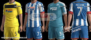Wigan Athletic Kits 2016-2017 Pes 2013