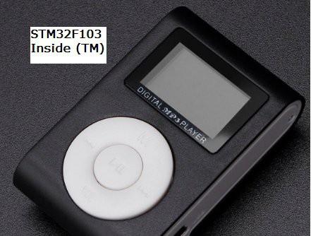 Hardware by design: Portable STM32F103