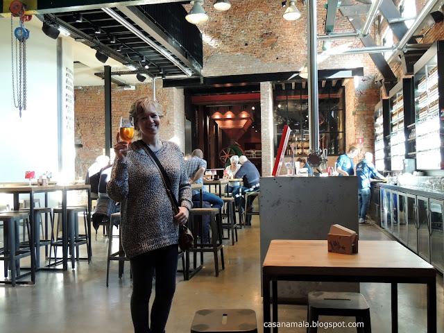 Degustação bar Visita Interativa De Koninck
