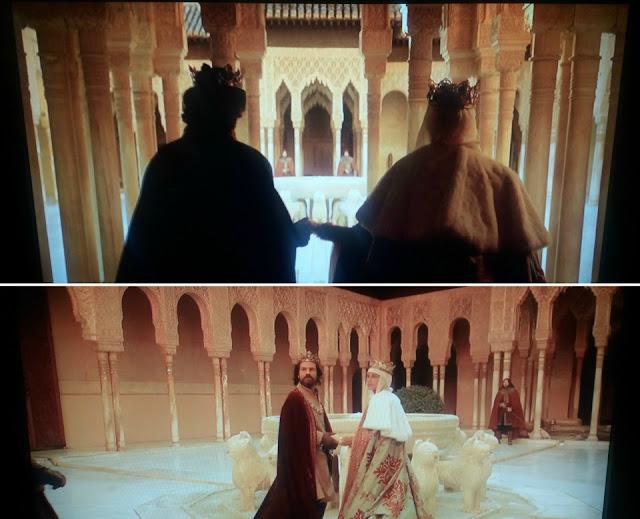 A Espanha da Rainha Isabel de Castela (série Isabel) - Alhambra, Granada