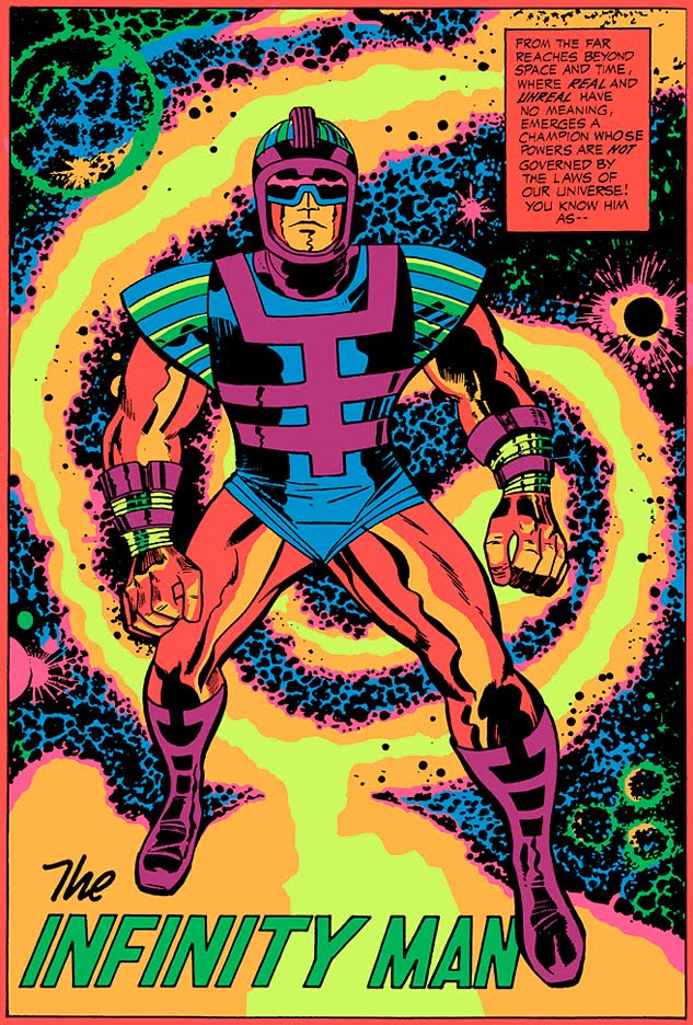 Cap N S Comics Far Out Some Jack Kirby Blacklight Posters