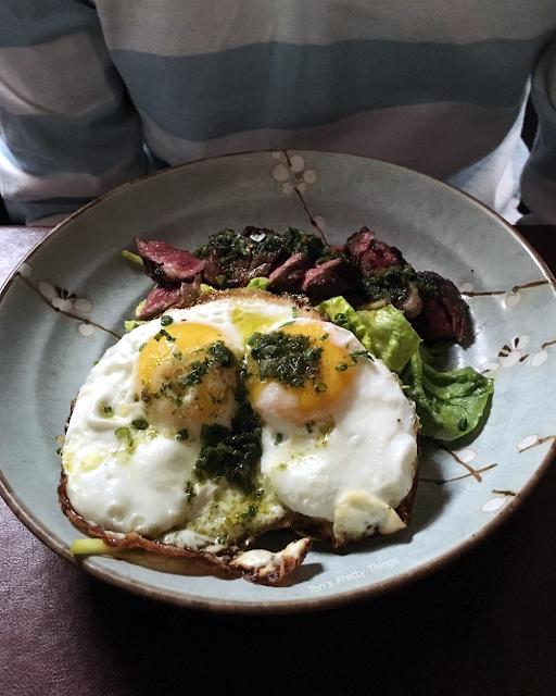 Tori's Pretty Things // Skirt Steak and Eggs