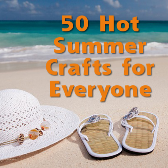 Craftymarie for Summer craft ideas for adults