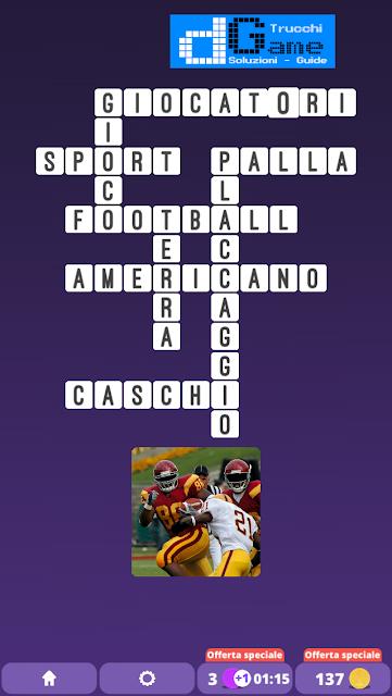 Soluzioni One Clue Crossword livello 7 schemi 9(Cruciverba illustrato)  | Parole e foto