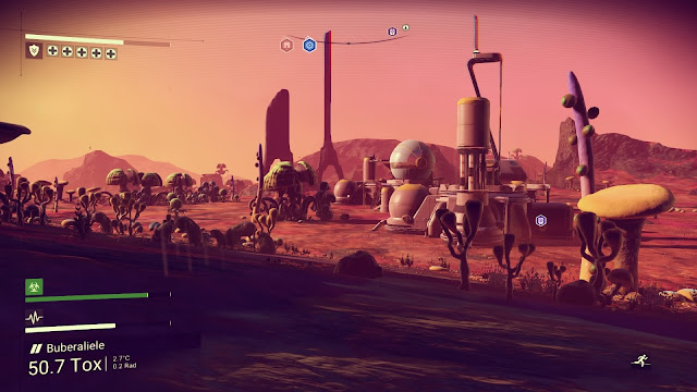Review – No Man's Sky desert world outpost