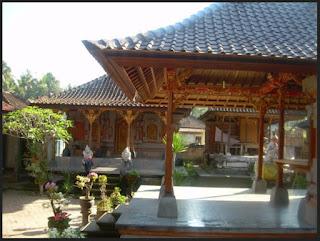 Gambar Desain Rumah Adat Bali 4