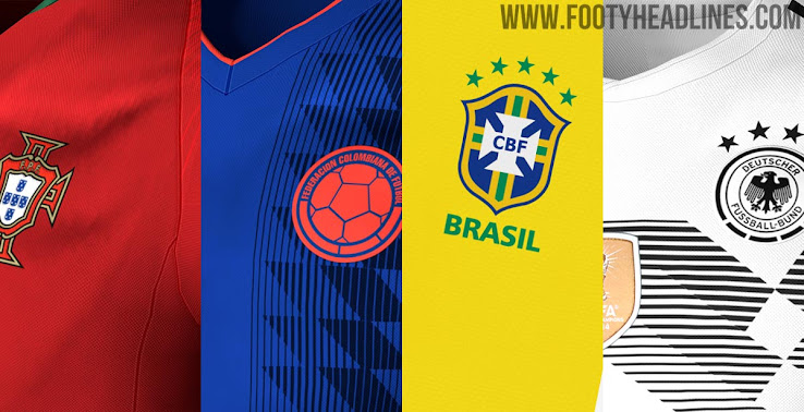 af7a456543a 2018 World Cup Kit Overview - Sneak peek into the 2018 World Cup Jersey  Leaks