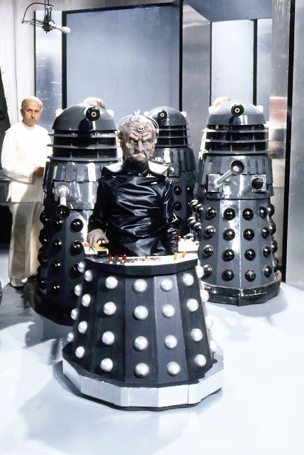 "Scene from ""Doctor Who: Genesis of the Daleks"""