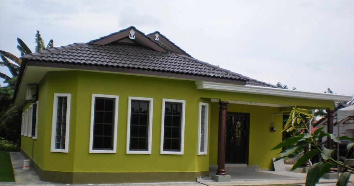 Warna Cat Rumah Kayu Yang Cantik | Desain Rumah