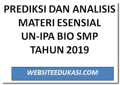 Prediksi UN IPA SMP Tahun 2019