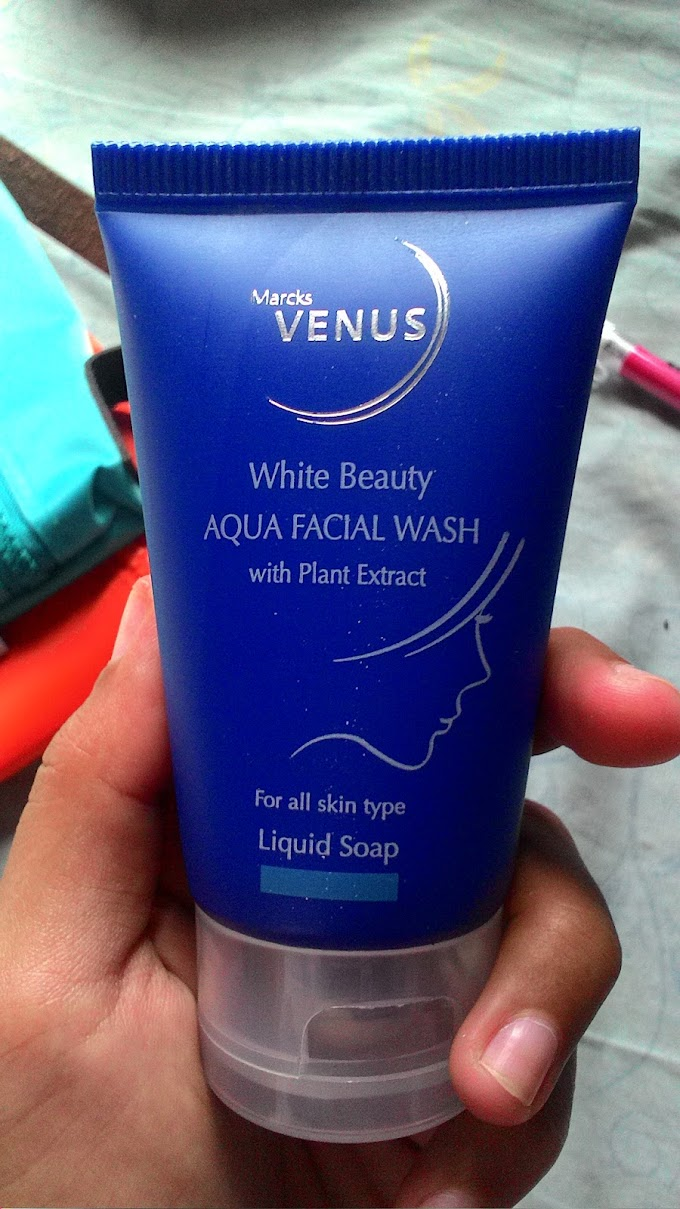 Review : Marck's Venus White Beauty Aqua Facial Wash
