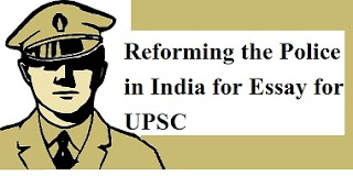 Reforming the Police in India