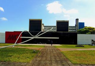 Prédio do MAC - Museu de Arte Contemporânea