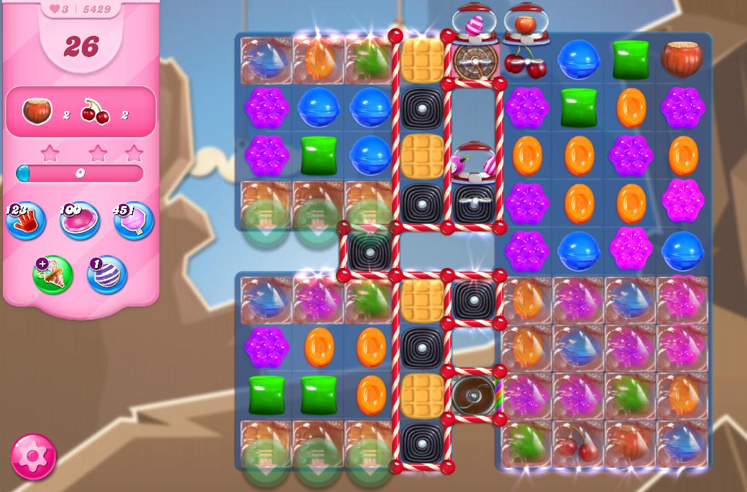 Candy Crush Saga level 5429