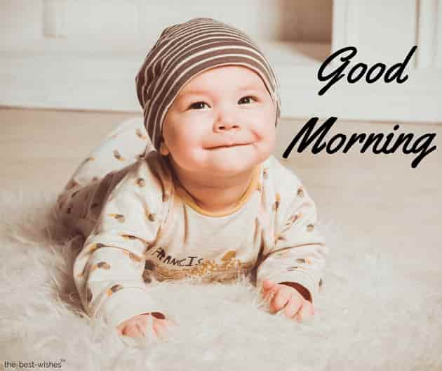 100 Cute Good Morning Baby Images And Pictures For Whatsapp
