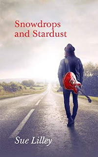 Snowdrops and Stardust - rockstar romance. Short story by Sue Lilley
