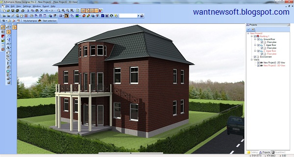 Ashampoo Home Designer Pro 2 Image
