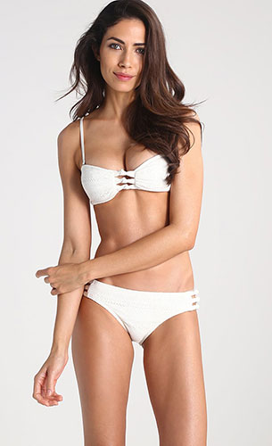 bikini blanco mujer Zalando