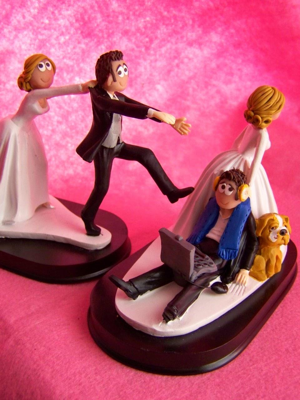 Muñecos y Figuras Personalizadas para Tartas de Bodas, Comuniones y ...