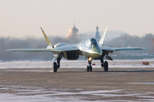 THE RUSSIAN SIXTH GENERATION FIGHTER
