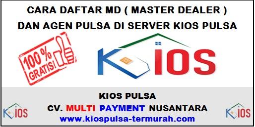 Cara Daftar MD dan Agen Pulsa Di Server Kios Pulsa