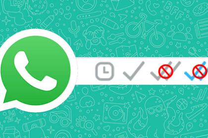 Inilah Cara Agar Whatsapp Centang Satu Meski Sudah Dibaca