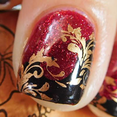 moonflower-polish-noche-bronze-lina-nail-art-twirls-swirls-stamping-macro