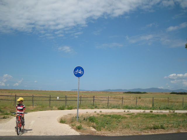 Maremma National Park cycling path in Southern Tuscany