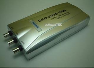 Darmatek Jual Hantek DSO-2090 PC USB Oscilloscope