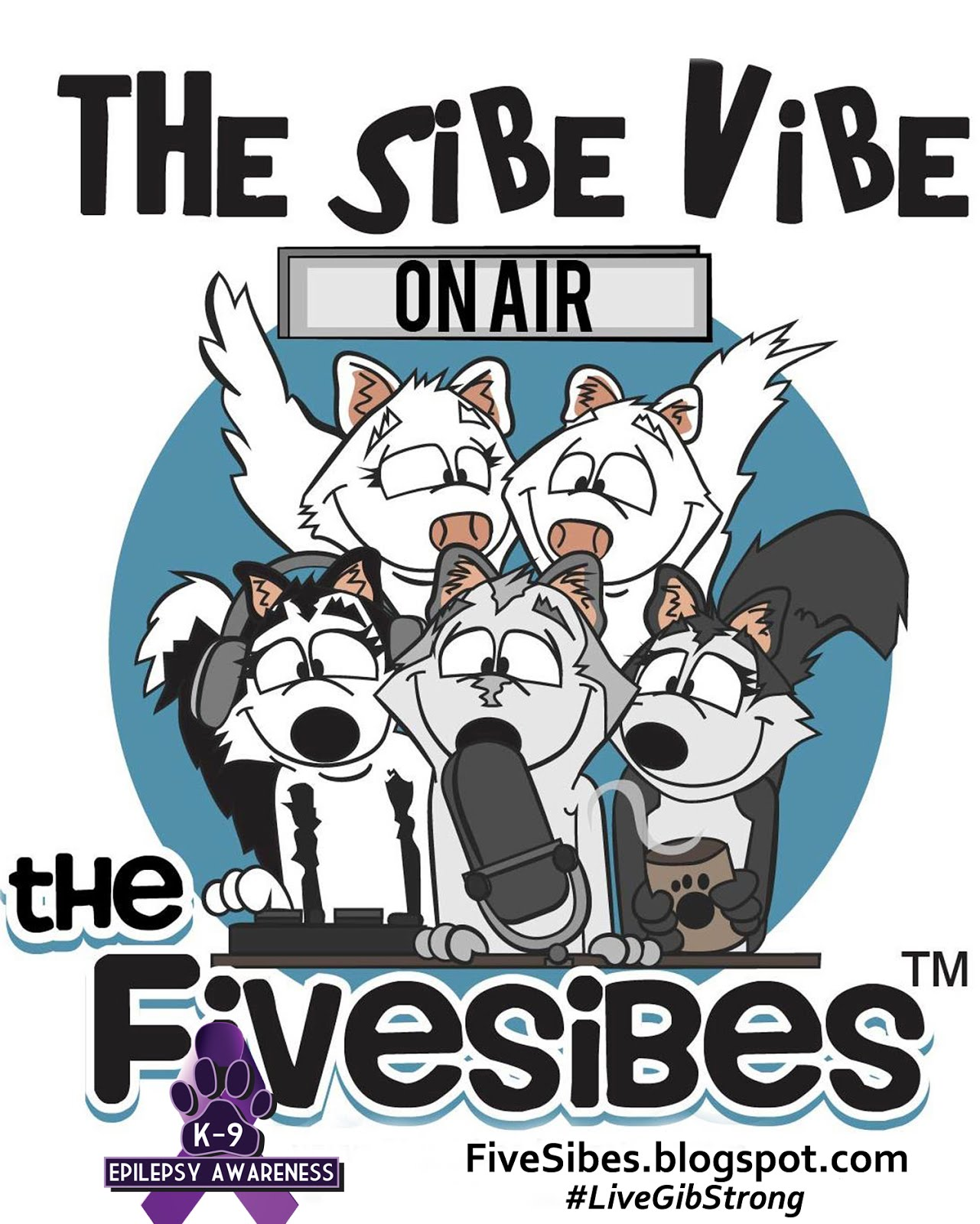 FiveSibes The Sibe Vibe on Dog Works Radio