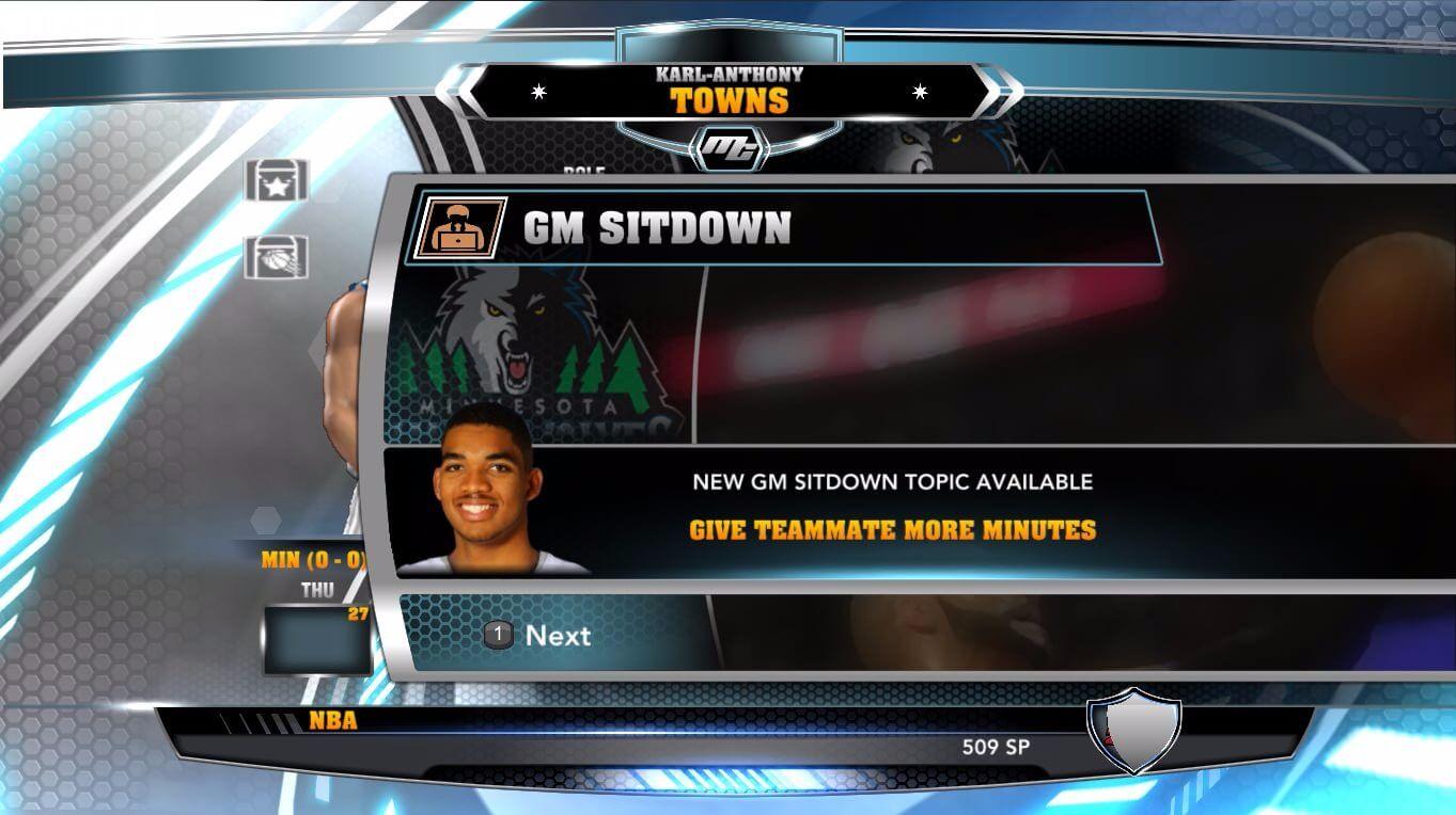 NBA 2k14 MyCareer Mod : Karl-Anthony Towns - hoopsvilla