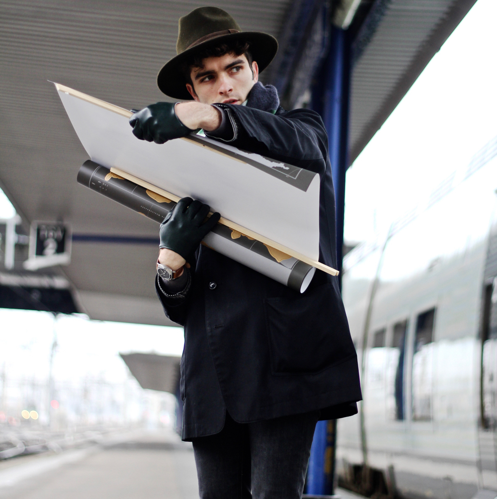 Blog-mode-style-homme-paris-bordeaux-abonnement-jeune-sncf-tgv-max-tgvmax-fevrier-gratuit-bon-plan-fedora-chapeau-sac-vintage-voyage-france-echarpe-dries-van-noten-skinny-homme-carte-gratter-yohji-yamamoto -montre-briston-sport-nato