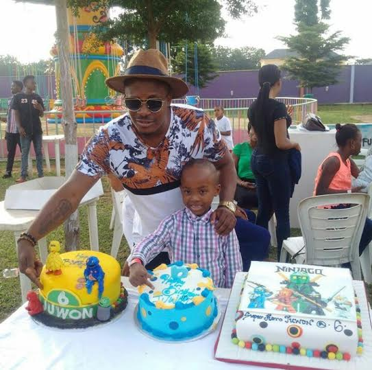 Mercy Aigbe son birthday party 66