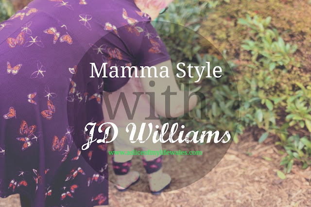 mamma style with JD williams - autumnal fashion post for a busy mother of a toddler - dress and leggings with brown boots - comfy clothing that doesn't restrict
