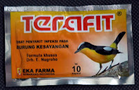 Obat Mencret Burung TERAFIT EKA FARMA