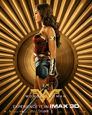 Póster IMAX de Wonder Woman