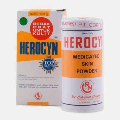 Herocyn Obat Biang Keringat dan Gatal-gatal Pada Kulit