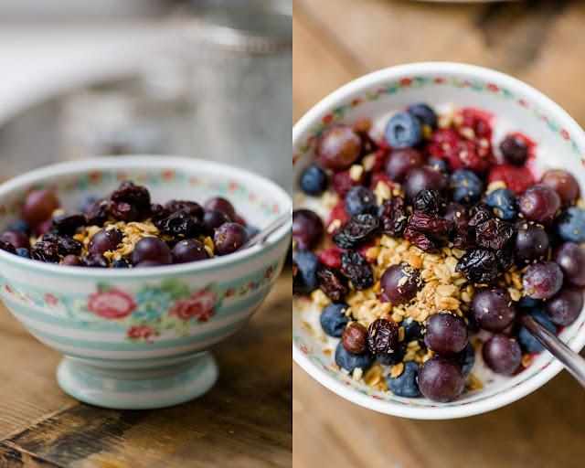 Vanille Porridge mit Beeren, Pomponetti