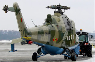 Senegalese air force mil mi 35 hind helicopter