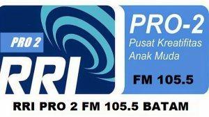Streaming RRI Pro 2 FM 105.5 MHz Batam