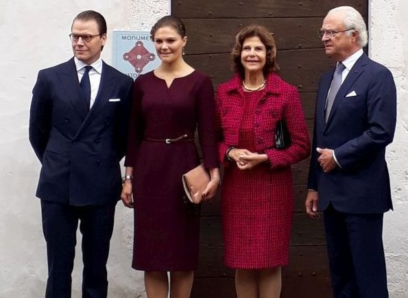 King Carl Gustaf, Queen Silvia, Crown Princess Victoria and Prince Daniel attended celebrations in Pau city of France 200th anniversary of Bernadotte