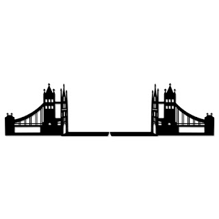 Aparador de Livro - Ponte de Londres