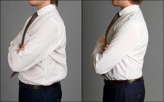 Camisa Y Ajuste El La De Perfecto Clase Elegancia Distinción Hg8Owx8vq