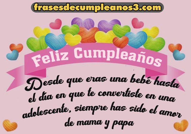 97 Mensajes De Cumpleaños Felizpara Tu Querida Hija