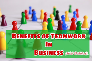Benefits of teamwork