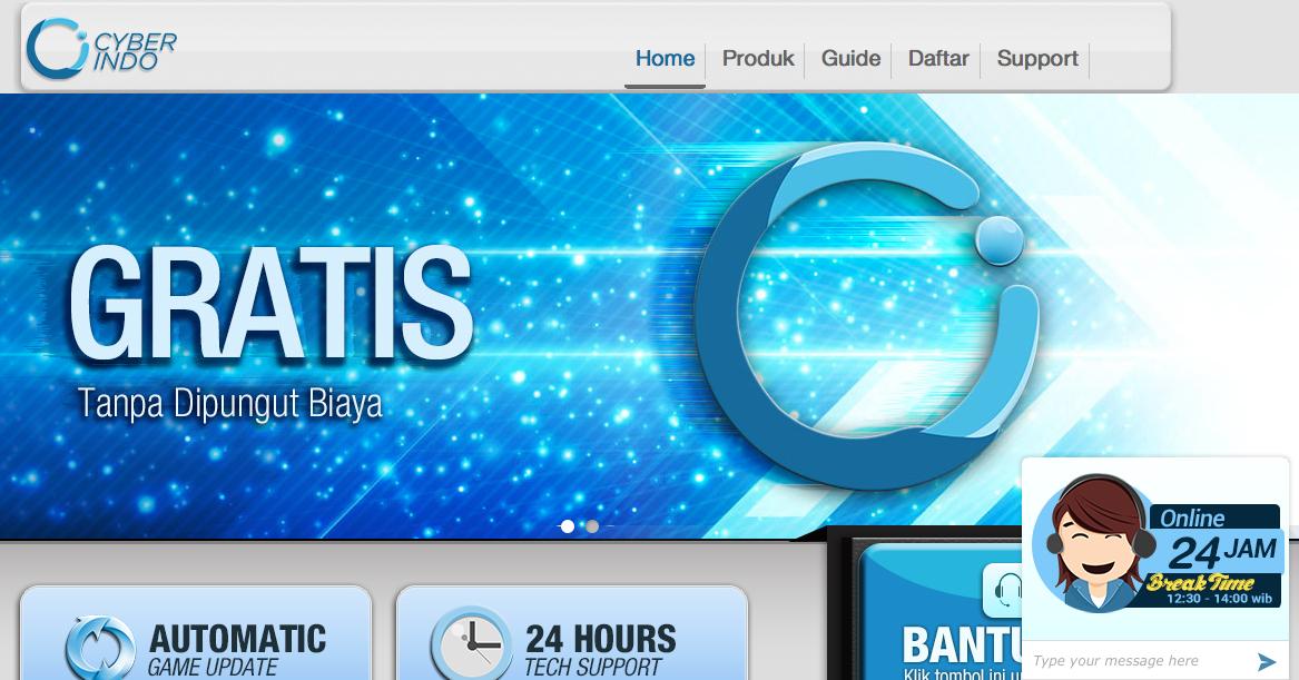 Download Software Billing dan Update Game Online Cyber Indo Garena Gratis