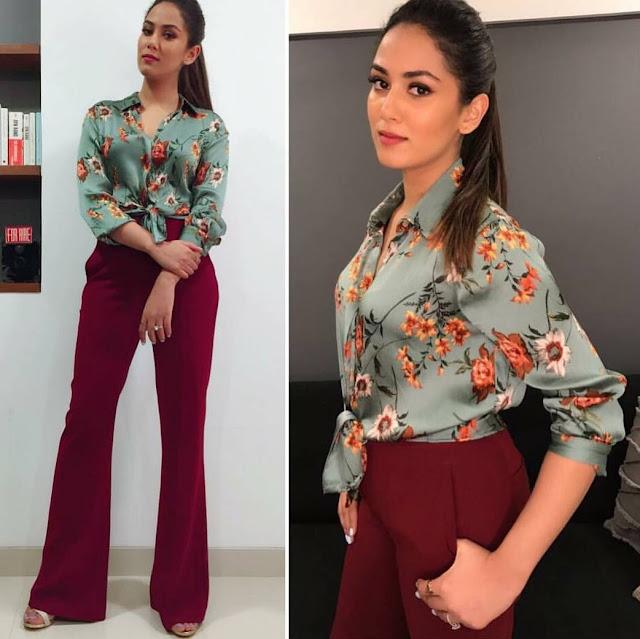 Mira Kapoor In Zara