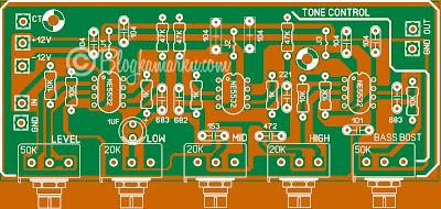 skema tone control mono Namec Low Noise