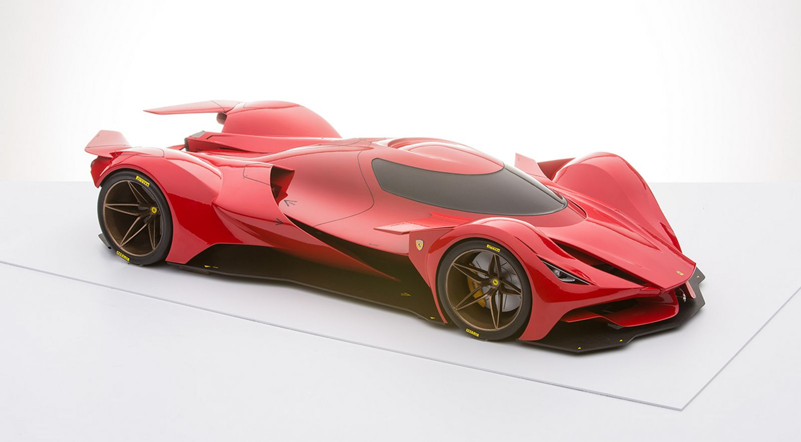 Futuristic Ferrari Le Mans Prototype Renderings Are